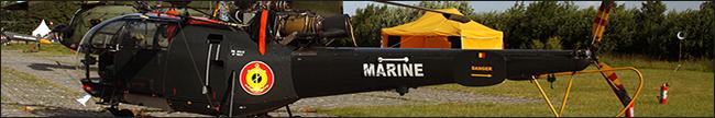 RBelgian Navy Allouette III