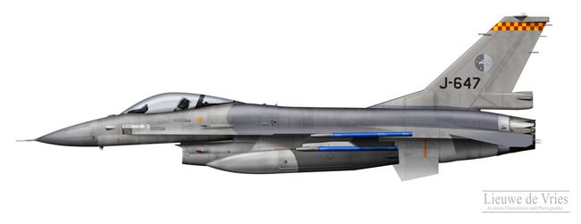 F-16AM J-647 Springfield Training Detachment /></td> </tr> <tr> <td colspan=