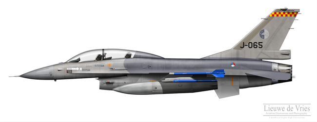 F-16BM J-065 Springfield Training Detachment /></td> </tr> <tr> <td colspan=