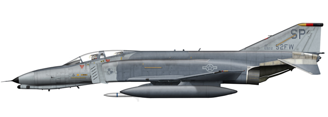 F-4G Phantom 69-7212 52nd FW, Spangdahlem AB