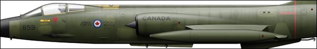 CF-104 104838 439 Sqn
