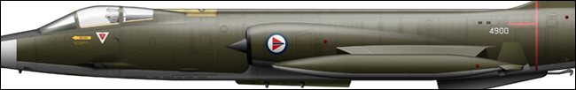 RNoAF F-104G 12625