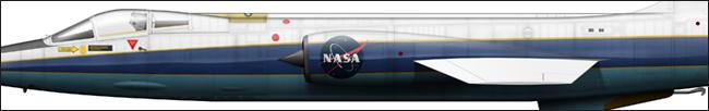 F-104N N812NA NASA