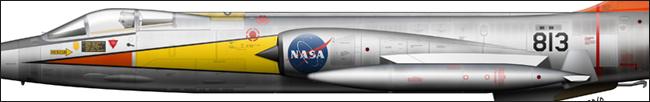 F-104N N813NA NASA