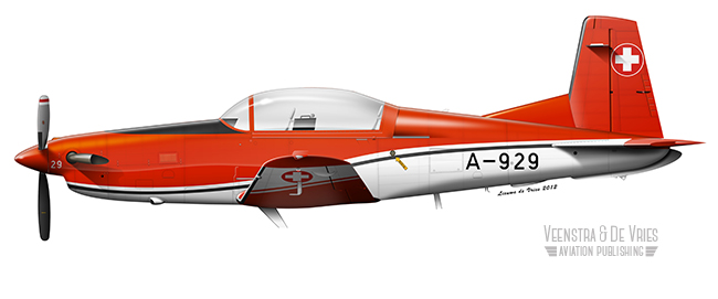 PC-7_SwissAF_A-929_Red_white