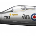 CF-104 Cold Lake detail 1