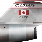 CF-104 Cold Lake detail 3