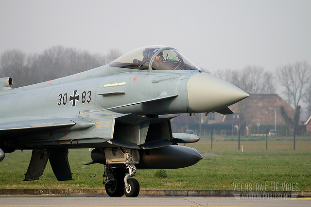 German Eurofighter at Frisian Flag 2014